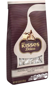 Hershey's Kisses Deluxe Marbled Cheesecake Candy