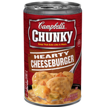 Campbell's® Chunky Hearty Cheeseburger Soup