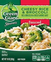 Green Giant® Steamers Cheesy Rice & Broccoli