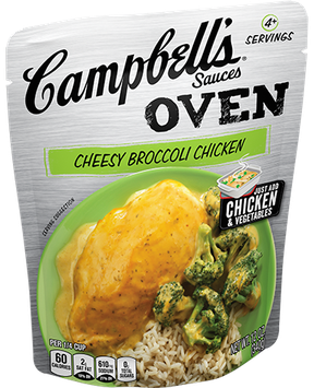 Campbell's® Cheesy Broccoli Chicken Oven Sauce