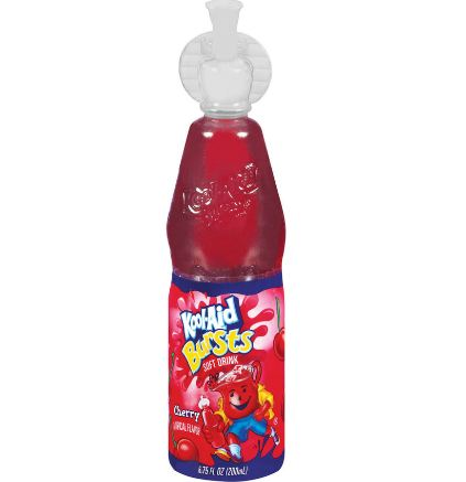 Kool-Aid Bursts Cherry Soft Drink