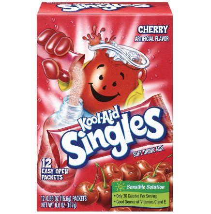Kool-Aid Singles Cherry Soft Drink Mix