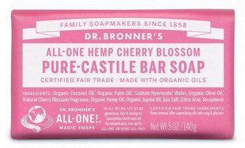 Dr. Bronner's All-One Hemp Cherry Blossom Pure - Castile Bar Soap