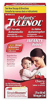 Tylenol® Infants' Simple Measure Cherry Oral Suspension