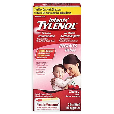 Tylenol® Infants' Simple Measure Cherry Oral Suspension
