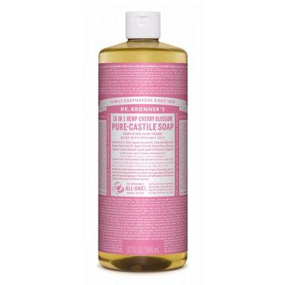 Dr. Bronner's 18-in-1 Hemp Cherry Blossom Pure - Castile Soap