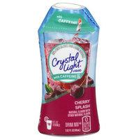 Crystal Light Caffeine Cherry Splash Liquid Drink Mix