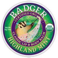 BADGER® Lip & Body Balm Tin - Highland Mint