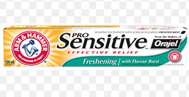 ARM & HAMMER™ Sensitive Freshening with Orajel