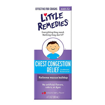 LITTLE REMEDIES® CHEST CONGESTION RELIEF NATURAL BERRY FLAVOR