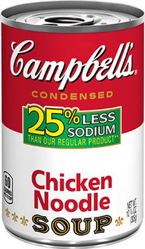Campbell's® 25% Less Sodium Chicken Noodle Soup