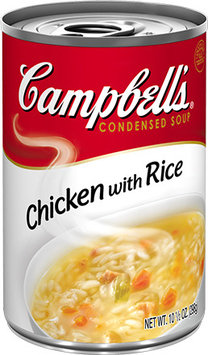 Campbell's® Chicken with Rice Condensed Soup