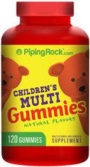 Piping Rock Children's Multi vitamin Gummies 120 Count