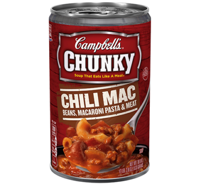 Campbell's® Chunky™ Chili Mac-beans, Macaroni Pasta & Meat Soup