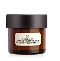 THE BODY SHOP® Chinese Ginseng and Rice Clarifying Polishing Mask