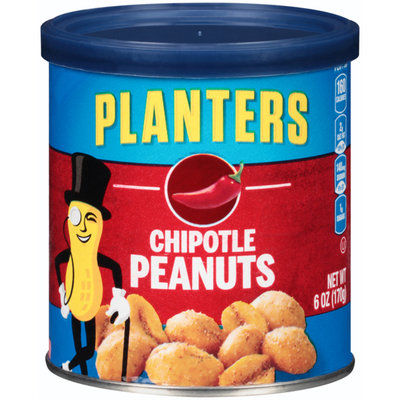 Planters Chipotle Peanuts Can