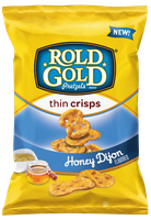 Rold Gold® Honey Dijon Flavored thin crisps