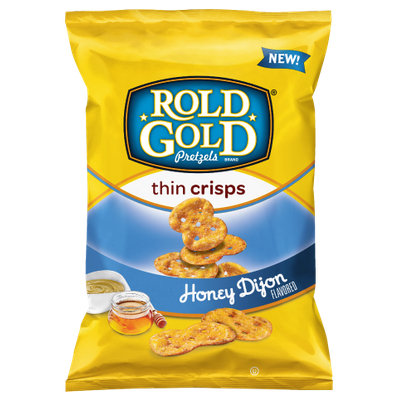 Rold Gold® Honey Dijon Flavored thin crisps