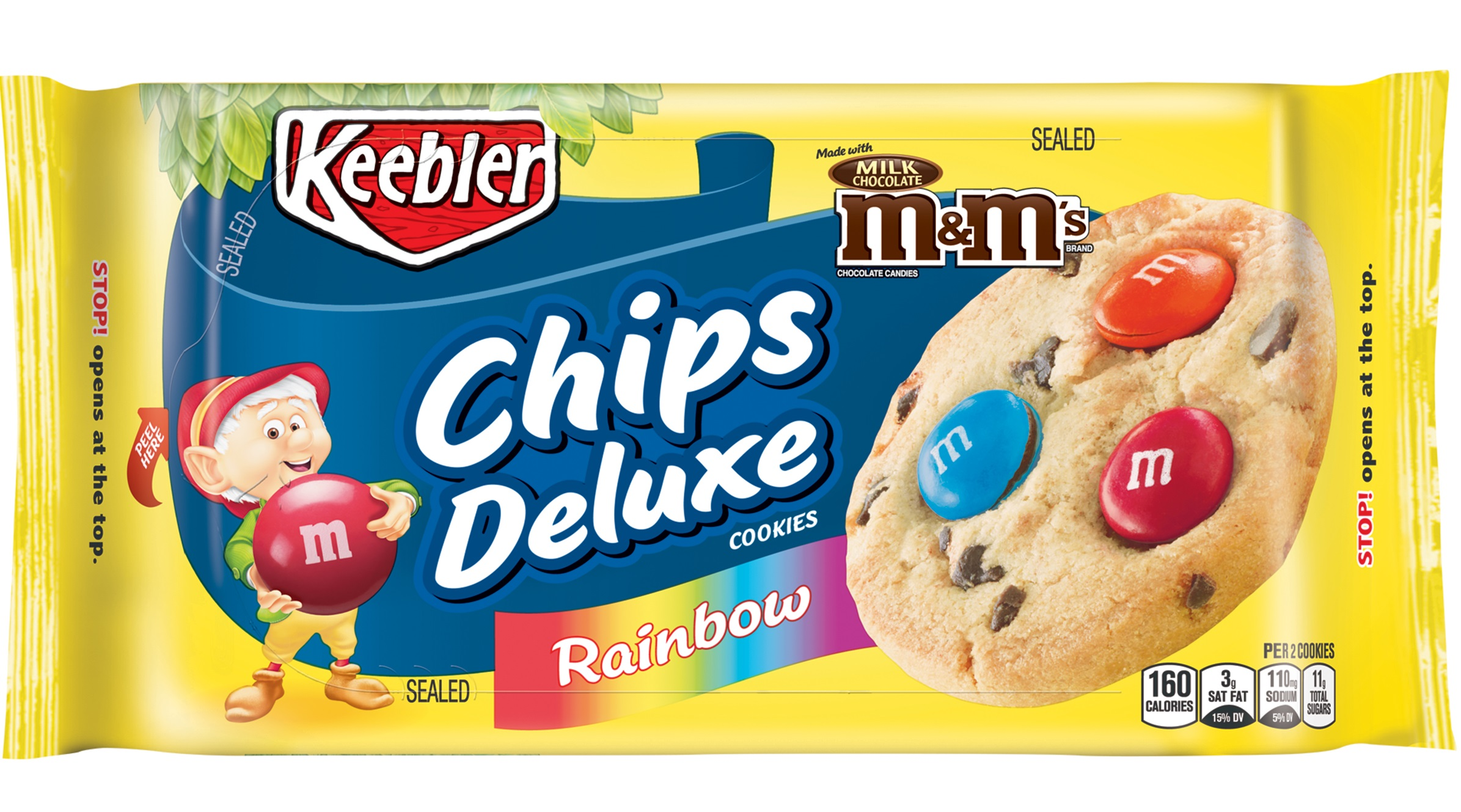 Keebler Summer Chips Deluxe Rainbow Cookies