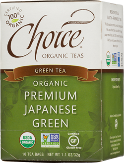 Choice Organic Teas Premium Japanese Green Green Tea