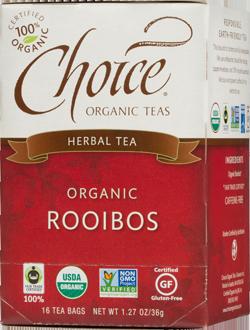 Choice Organic Teas Rooibos Herbal Tea