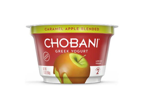 Chobani® Limited-Edition Caramel Apple Blended