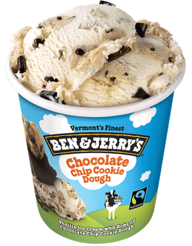 Ben & Jerry's Chocolate Chip Cookie Dough Ice Cream