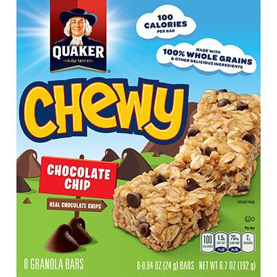 Quaker® Chewy Granola Bars Chocolate Chip