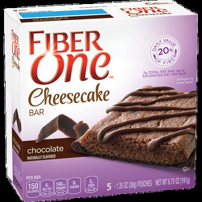 Fiber One Chocolate Cheesecake Bar