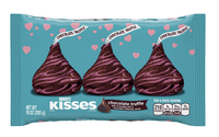 Hershey's Kisses Chocolate Truffles Wrapped In Dark Chocolate