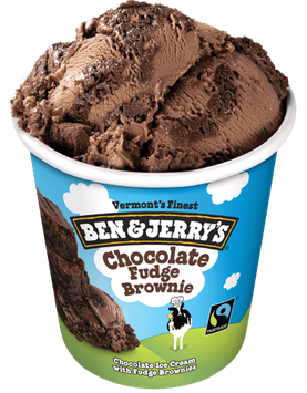 Ben & Jerry's® Ice Cream Chocolate Fudge Brownie