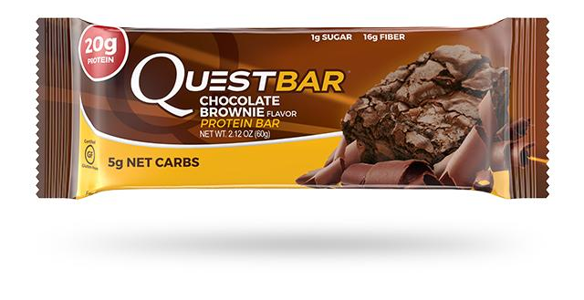 QUEST NUTRITION Chocolate Brownie Protein Bar