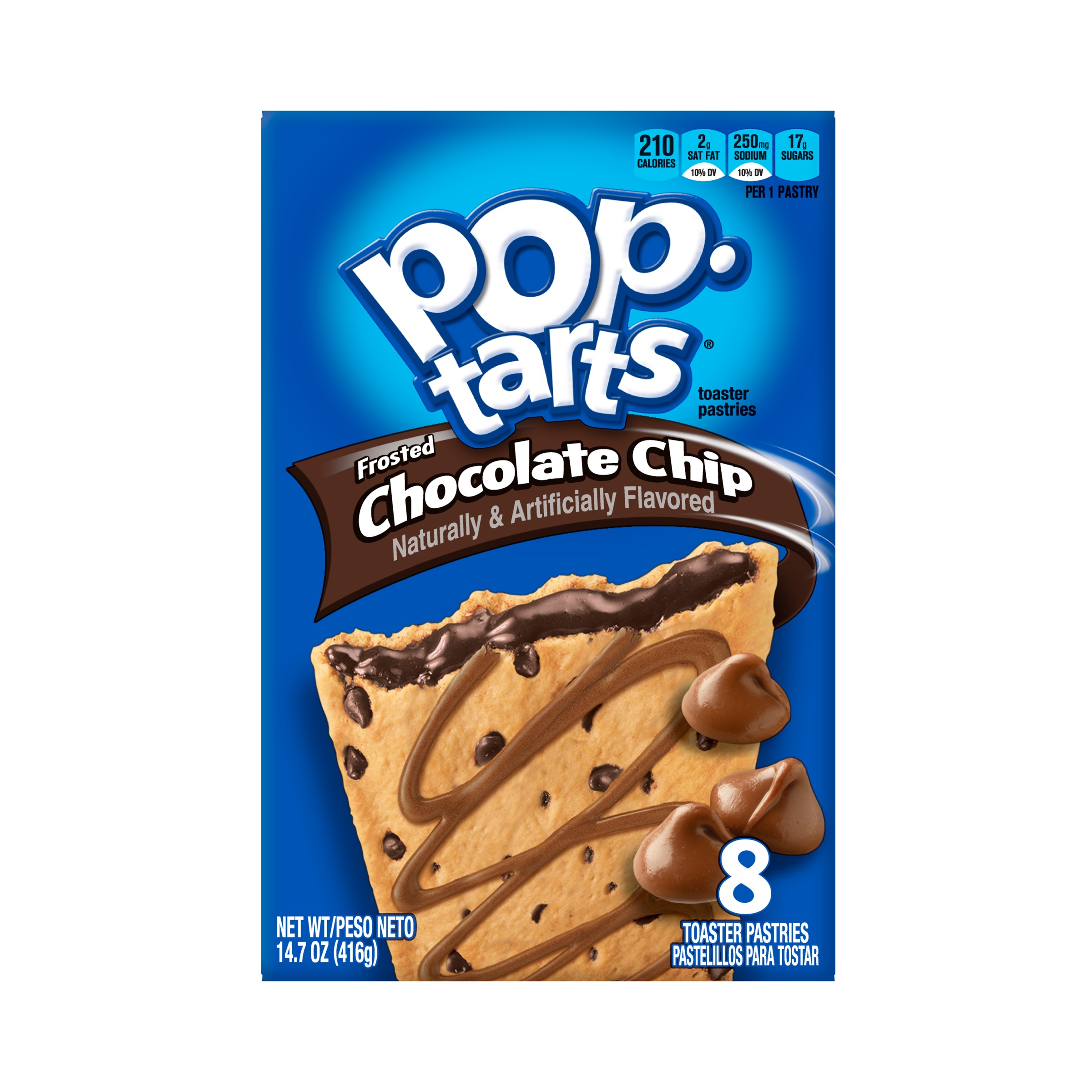 Kellogg's Pop-Tarts Frosted Chocolate Chip Toaster Pastries