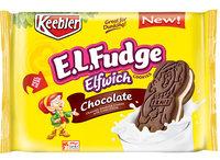 Keebler E.L. Fudge Elfwich Chocolate Cookies