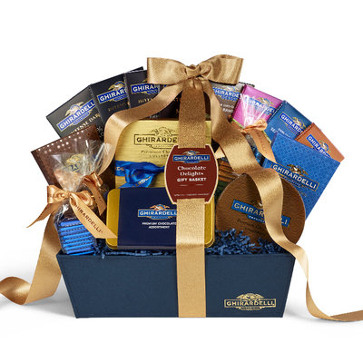 Ghirardelli Chocolate Delights Gift Basket