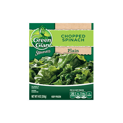 Green Giant® Steamers Chopped Spinach