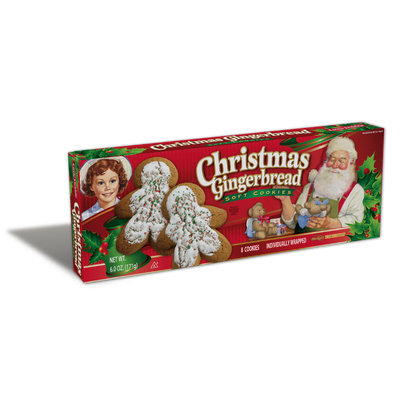 Little Debbie® Christmas Gingerbread Cookies