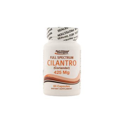 Nutritional Concepts Cilantro (Coriander) 425mg 60 Capsules
