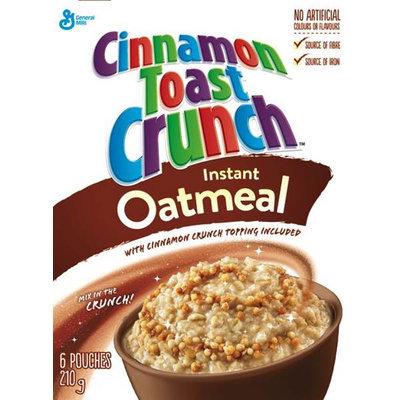 Cinnamon Toast Crunch Instant Oatmeal