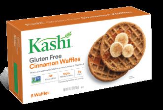 Kashi® Gluten-Free Cinnamon Waffles