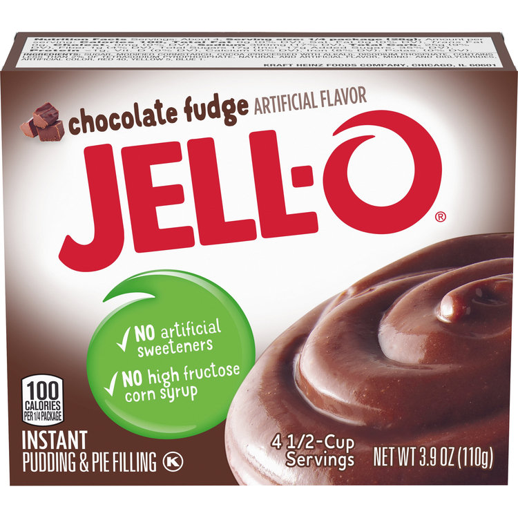 Jell-O Instant Chocolate Fudge Pudding & Pie Filling