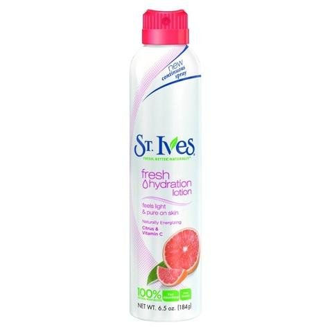 St. Ives Citrus & Vitamin C Fresh Hydration™ Lotion Spray
