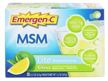 Emergen-C MSM Lite Citrus