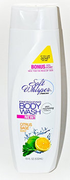 Soft Whisper Energizing Body Wash Citrus Sage