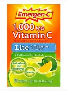 Emergen-C 1,000 mg Vitamin C Lite Citrus