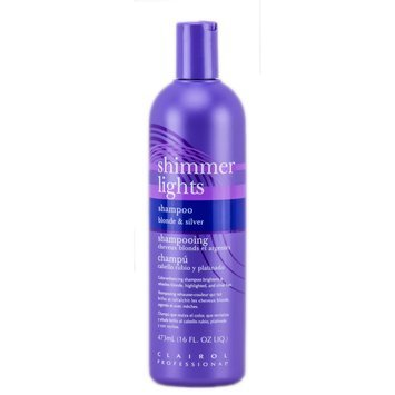Clairol Professional Shimmer Lights Shampoo Blonde and Silver