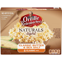Orville Redenbacher's Naturals Light Classic Butter & Sea Salt