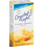 Crystal Light Classic Orange On the Go Drink Mix