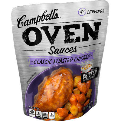 Campbell's® Classic Roasted Chicken Oven Sauces