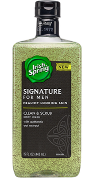 Irish Spring Clean & Scrub Body Wash